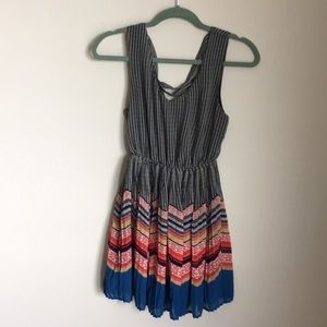 Sweet patterned dress from ModCloth!